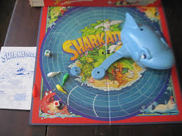 1988 Shark Attack Board Game By Daysgonebytreasures On Etsy