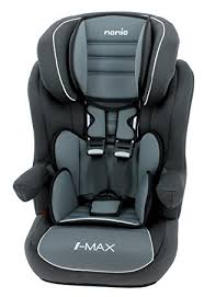 si e rehausseur nania siège auto rehausseur dossier avec harnais i max sp luxe gris