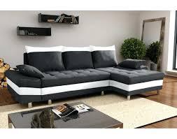 canapé noir et blanc canape noir et blanc canapac 21 places relax en simili souffle noir