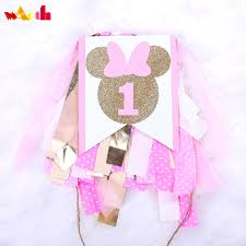 US $13.6  Handmade New Mickey Mouse Party Highchair Bunting Baby Room  Banner Birthday 1st Baby Shower Party Decorations Home Decoration-in  Banners, ... Minnie Mouse Room Diy Decor Hlights Along The Way Amazoncom Disneys Mickey First Birthday Highchair High Chair Banner Modern Decoration How To Make A With Free Img_3670 Harlans First Birthday In 2019 Mouse Inspired Party Supplies Sweet Pea Parties Table Balloon Arch Beautiful Decor Piece For Parties Decorating Kit Baby 1st Disney