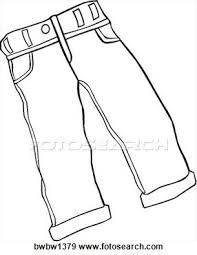 pants clipart black and white white shorts md Clip Art Net