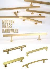 fascinating modern brass cabinet hardware beautiful vintage mid