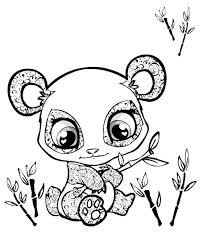 Coloring For Kids Cute Animals Pages New In Model Free