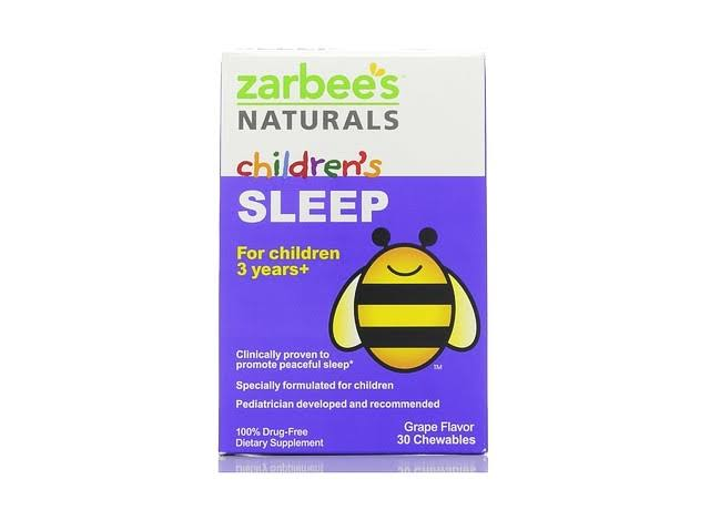 Zarbee's Children's Natural Sleep - Grape, 30ct