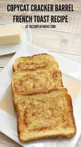 Cracker Barrel Pumpkin Custard Ginger Snaps Nutrition by Top 25 Best Simple French Toast Recipe Ideas On Pinterest Easy