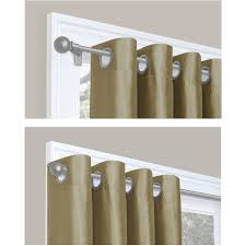 Kenney Magnetic Window Curtain Rods by Smart Rods Twist And Lock Curtain Rod Walmart Com