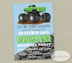 Green Monster Truck Invitation | Green Monsters, Monster Trucks And ... Monster Contruck Invitation Invite Pics Of Truck Fresh Birthday Invitations Personalized Invitation Boy By Uprint Etsy Party Ideas At In A Box 50 Off Sale 2nd Svg And Printable Clipart To Make Nice 94 In Design With Frozen Elsa Anna Trucks Food Jam Supplies Monster Truck Birthday Truck Birthday Party Invites Tonys 6th Bday