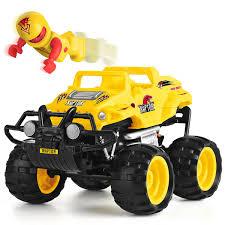 Award Winning Monster Smash Ups Remote Control RC Truck Raptor Kids ...