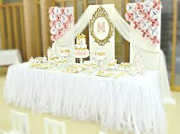 Pink And Gold Birthday Themes by Princess Birthday Cake Table Image Inspiration Of Cake And