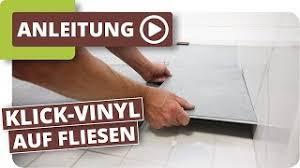klick vinyl auf fliesen boden im bad schnell renovieren