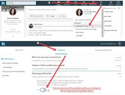 How To Keep Your LinkedIn Profile Edits A Secret From Your ... How To Upload A Rumes Parfukaptbandco How Find Headhunter Or Recruiter Get You Job Rock Your Resume With Assistant From Linkedin Use With Summary Examples For Upload Job Search Rources See Whats New From Lkedin And Other New Post My On Lkedin Atclgrain Add Resume In 2018 Calamo Should I Add Adding Fresh Beautiful Profile Writing Guide Jobscan Your On Profile