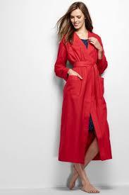 robe de chambre en la robe de chambre en flanelle femme lands end