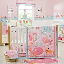 Little Mermaid Crib Bedding by Amazon Com Under The Sea 4 Piece Baby Crib Bedding Set By