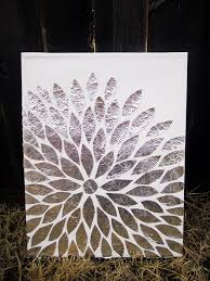 DIY Arts Crafts Foil Art