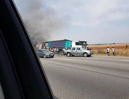 intelligence bureau sa looters descend on burning truck the citizen