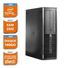 pc ordinateur de bureau ordinateur de bureau hp elite 6000 dual 2 go ram 160 go disque