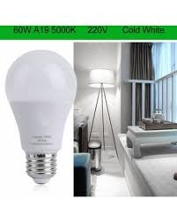 sweet deal on 12pcs 60w a19 led bulb l 5000k cold white light