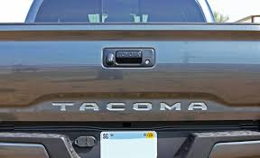 100 Truck Tailgate Decals 20152019 Toyota Tacoma TAILGATE LETTERS Rear Bed Lettering