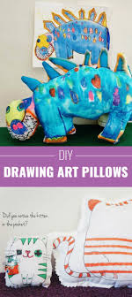 Drawing Art Pillows 33 Brilliant And Colorful Crafts For Teens To Realize