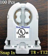 Non Shunted T8 Lamp Holder by T8 Socket Business U0026 Industrial Ebay