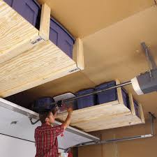 Diy Overhead Garage Storage AWESOME PATIO IDEAS