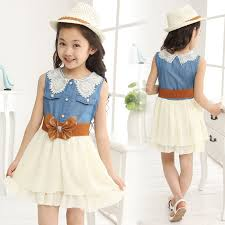 5 Stylish Bow Belt Dresses For Kids Girls