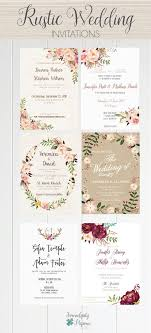 A Beautiful Selection Of Printable Wedding Invitations From Rustic To Boho Classic And Romantic