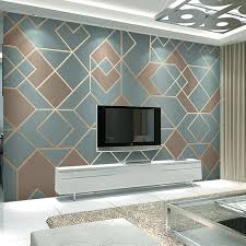 gewohnheit irgendeine größe tapete moderne abstrakte geometrische goldenen linien wandmalereien wohnzimmer esszimmer hintergrund wand abdeckt decor