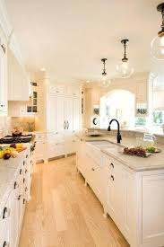 Light Brown Hardwood Floors White Kitchen Wood And Decor Colored Oak