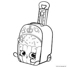 Print Shopkins World Vacation Season 8 Coloring Pages