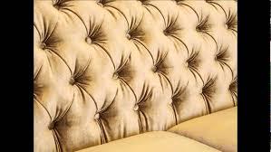 Tufted Velvet Sofa Furniture by Modern Tufted Velvet Sofa Sperrazza Youtube