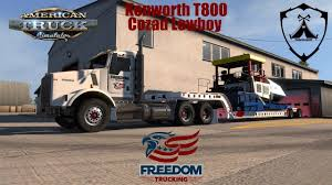 American Truck Simulator: T800 Heavy Haul - YouTube Tuckers Truck Driving Academy Waterloo Wi 53594 Flatbeds 5 Healthy Lifestyle Tricks For Cdl Drivers Freedom Bonds Company Overview About Us And Trailer Parts Quinton Ward Qtward08 Twitter Wner Enterprises Operation Show Your Ride Statement Center Blasts Toll Tyranny As Bullying By Ridot Troy Davidson Volvo Shows Off For Truck Freedairfilterscom Develops Reusable Prefilter Trucking How To Calculate Freight Rates Logistics Air