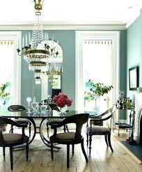 Blue Dining Room Ideas Gray Brilliant Colors With Best