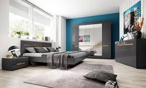 schlafzimmer set 5 teilig 70252323 grau front mdf hochglanz fichte liegefläche wählbar