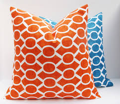 teal and orange decorative pillows Beautiful Teal Decorative