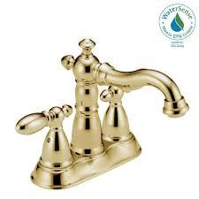 Delta Leland Bathroom Faucet Bronze by Delta Victorian 4 In Centerset 2 Handle Bathroom Faucet With