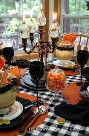 Homemade Halloween Decorations Pinterest by Halloween Table Ideas Homemade Halloween Decorations Pinterest
