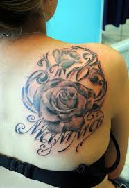 Roses Tattoo For Girl Shoulder Tattoos