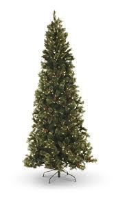 9 Slim Christmas Tree Prelit by Oregon Pine 9 U2032 Pre Lit Artificial Christmas Tree With Warm White