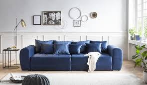 big sofa grau wohnzimmer wohnen möbel wurm