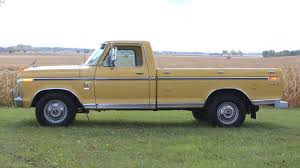 100 1974 Ford Truck F250 Camper Special Pickup T116 Kansas City 2013