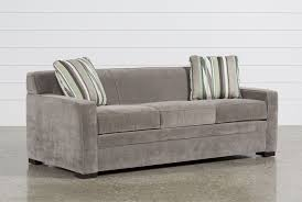 Tempurpedic City Sleeper Sofa by Ethan Pillow Top Queen Sleeper Living Spaces