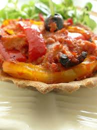 tartelettes aux poivrons et au thon pâte à tarte sans gluten à l