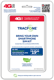TracFone Wireless Activation Kits BYOP
