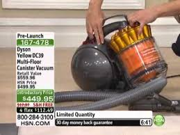 Dyson Dc39 Hardwood Floor Attachment by Dyson Dc39 Multi Floor Canister Vacuum With Accessories Youtube