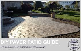 How to easily install a paver patio that doesn t look like a DIY
