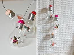 bright ideas to recycle light bulbs