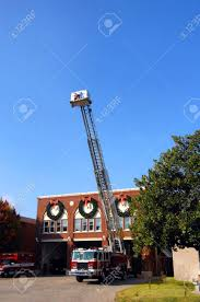Ladder Is Extended On Fire Department Truck Making Repairs. .. Stock ... Fire Truck Birthday Party With Free Printables How To Nest For Less Baby Shower Decorations Engine Thank You Christmas Lights Firetruck The Town Decorated Fire Truck Fire Fighter Party Fireman Candy Wrappers Birthday Party Decorations Badges 3rd Pinterest Christmas Shop By Theme Tagged Engines Putti Firetruck Ornament Stock Image Image Of Retro 102596133 Sound Alarm Ultimate Cake Wilton This Is The That I Made For My Sons 2nd