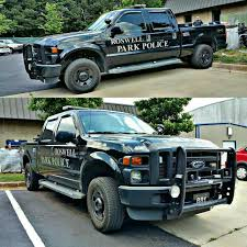 100 Ford Police Truck Roswell Park GA 881 F250 Super Duty Modern