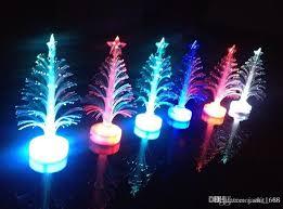 Fiber Optic Lighting Optical Tree Colorful Christmas Led Flash Toys Wholesale Luminous Three Dimensional Trees Collectibles